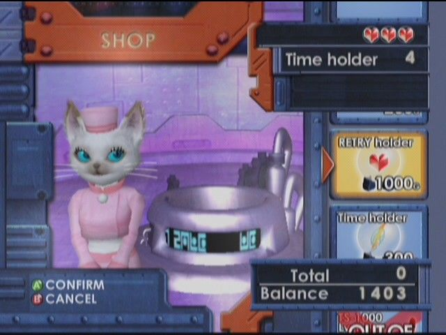 The Shop in Blinx: The Time Sweeper
