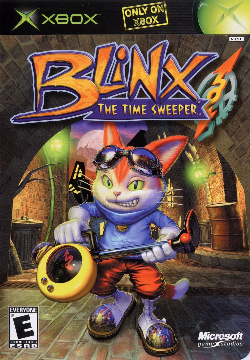 Book Cover Pictures Xbox : Blinx the time sweeper coming to xbox one backwards