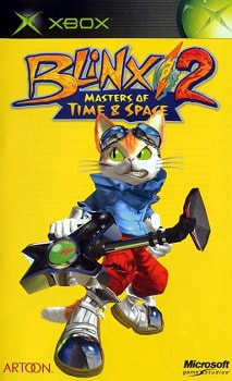 Cover of the Blinx 2: Masters of Time and Space US manual
