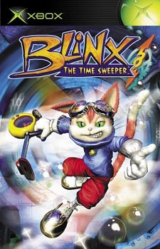 Cover of the Blinx: The Time Sweeper US manual